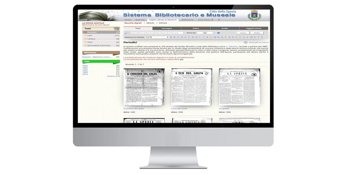 Digital Library - Testi